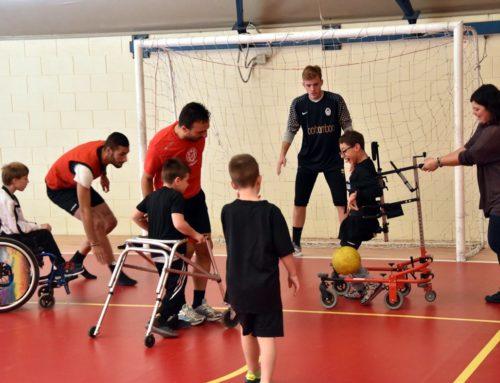 Ricomincia la scuola calcio della Neuropsichiatria Infantile