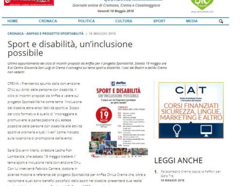 Sport e disabilità, un'inclusione possibile
